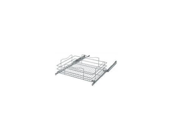 Корзина верх. кухонная без крепления фасада Ширина модуля 450 мм. ШxГxВ - 410x480x180 мм (541 CRETA), фото 1