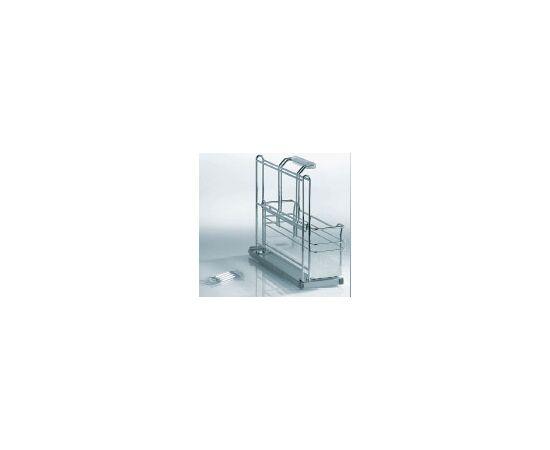 Портеро kessebohmer контейнер для хозпренадлежностей с одной емкостью, 161х495х395 (00 5151 0005), фото 1