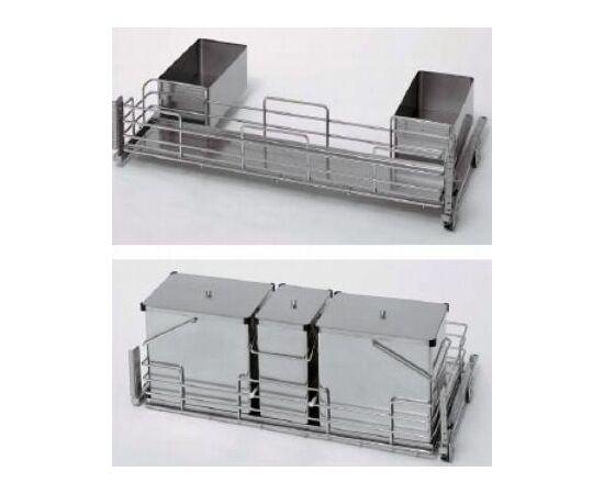 Выдвижная система под мойку Lux, ширина 900 мм, глубина 500 мм, высота 680 мм Sige (70000511A), фото 1