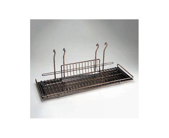Сушка для посуды навесная большая 700х240х280 мм, Lemi (31973), фото 1