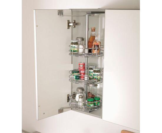 Выдвижная система TOP WHEEL в верхний шкаф, ширина фасада 300 мм, высота рамы 850-930 мм Vauth-Sagel (90000129), фото 1