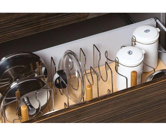 Набор держателей для 3 сковородок Casseto, хром глянец (KPAD MC), фото 1