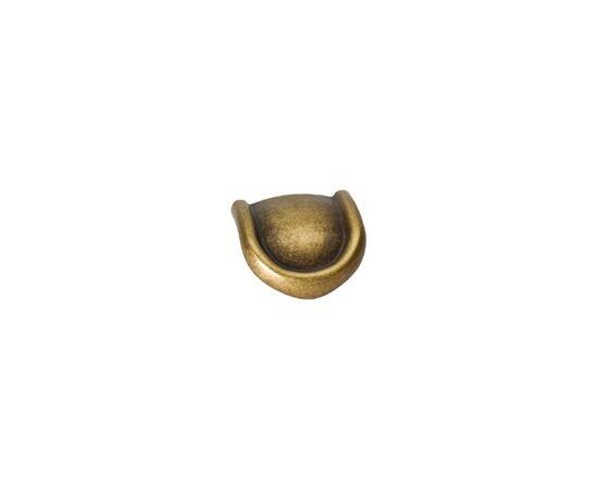 """Мебельная ручка-скоба классика 16мм, отделка бронза """"Флоренция"""" (15132Z01600.09), фото 1"""