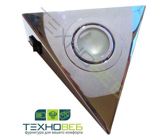 Светильник AIRON-1.10-LED комплект из 3-х штук, светодиодный, 9W. Цвет: хром глянец, фото 1