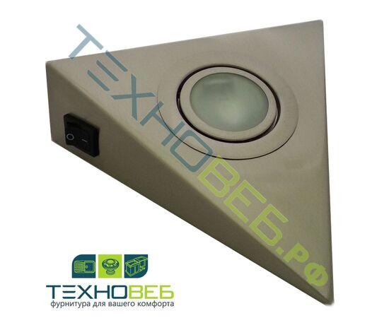 Светильник AIRON-1.20-LED комплект из 3-х штук, светодиодный, 9W. Цвет: никель, фото 1