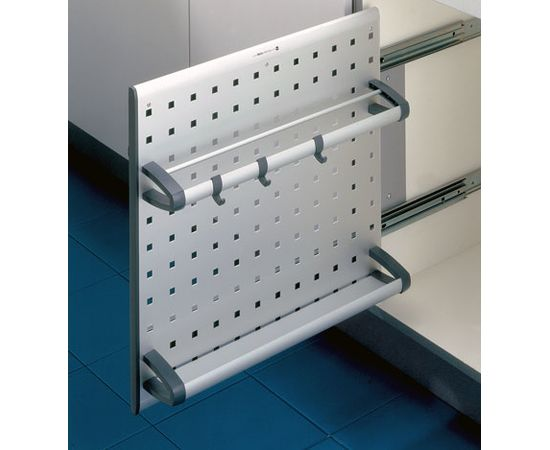 Выдвижная система Vario в распашной шкаф шириной от 150 мм Hailo (3901-00), фото 1