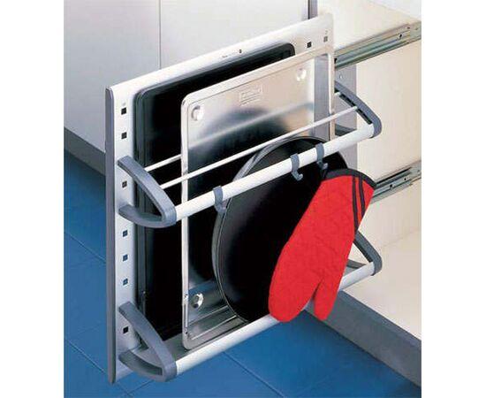 Выдвижная система Vario в распашной шкаф шириной от 200 мм Hailo (3902-00), фото 1