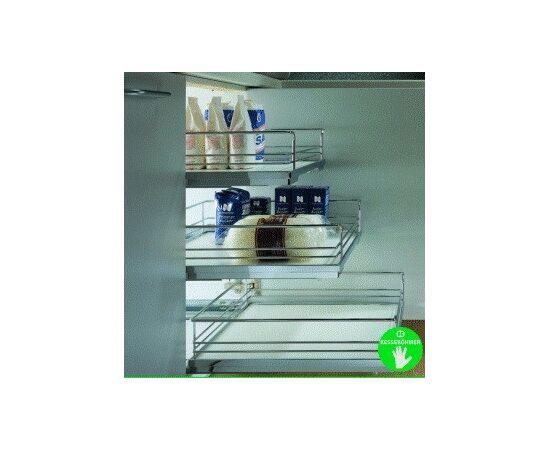 Корзина выкатная-500 Софт Стоп, Арена комплект kessebohmer, Н 127 мм, с проставкой (36 5011 0005), фото 1