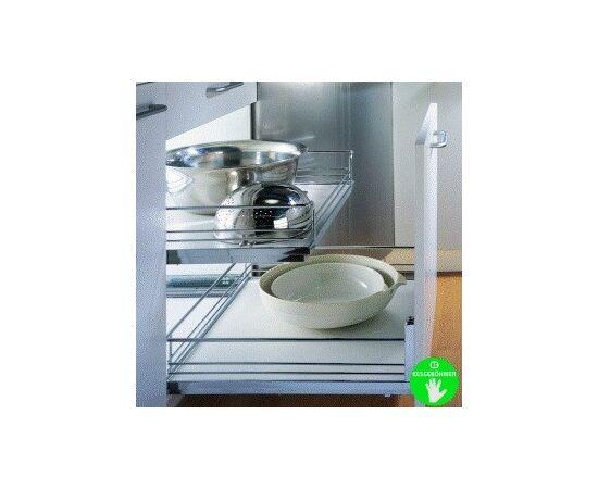 Комплект выдвижных полок kessebohmer «Дабл-600, Софт Стоп, Арена», 2 сетки (32 6021 0005), фото 1