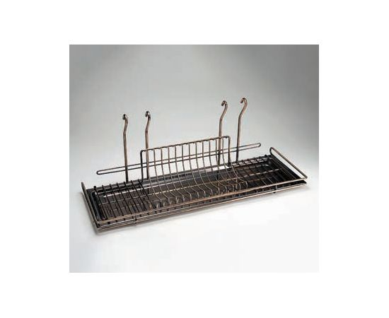 Сушка для посуды навесная большая 700х240х280 мм, Lemi (3197В), фото 1