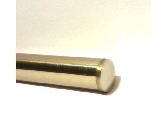 """Заглушка-вставка плоская для труб """"шлифованная"""" нержавеющая сталь Техновеб D-16 мм, фото 1"""