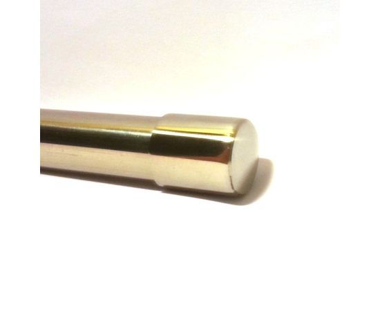 """Заглушка накладная для труб, """"шлифованная"""" нержавеющая сталь Техновеб D-16 мм, фото 1"""