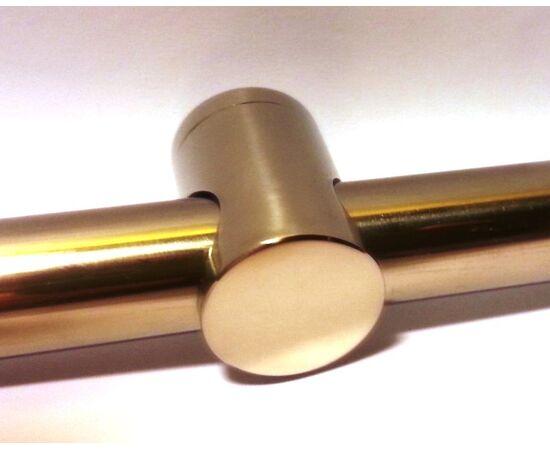 """Держатель для труб D-16 мм,  """"зеркальная""""  нержавеющая сталь Техновеб, фото 1"""