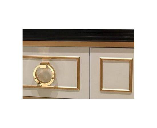Ручка мебельная кольцо модерн, глянцевое золото (BU 013.80.19), фото 2