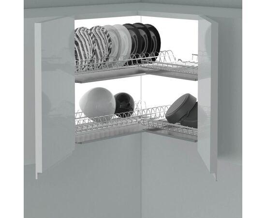 Сушка 2-уровневая угловая в базу 600x600 (704X), фото 2