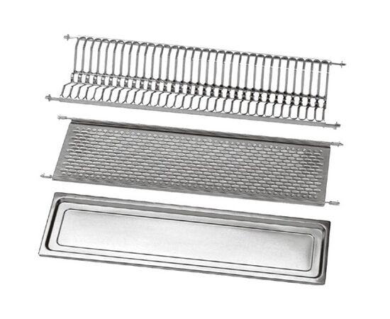 Сушка для посуды 2-уровневая в базу 550, сталь нержавеющая ELLETIPI (B-SWVB.51), фото 2