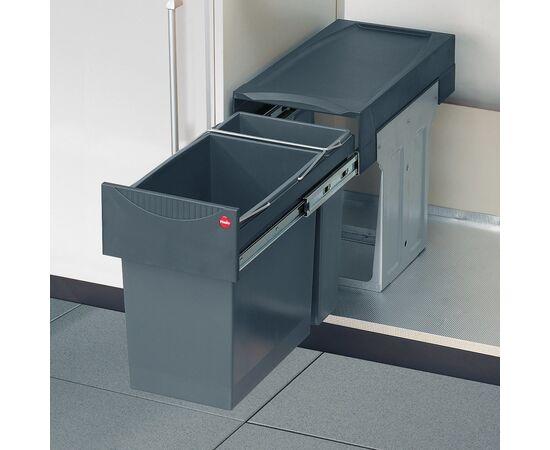 """Система сортировки мусора, хранения """"Tandem"""", в базу 300 мм Hailo (3666-11), фото 1"""