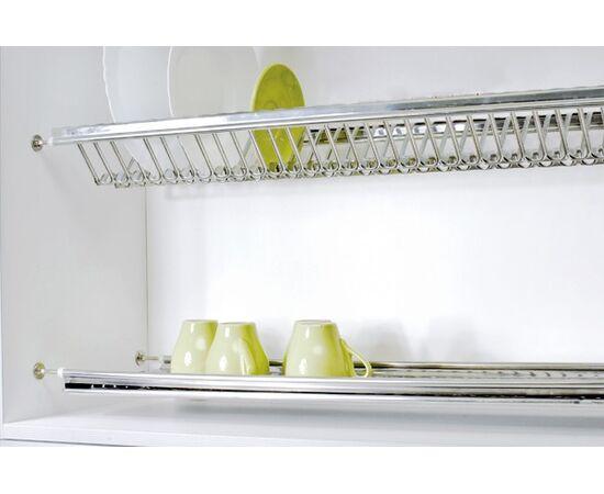 Сушка для посуды 2-уровневая в базу 400, сталь нержавеющая ELLETIPI (B-SWVB.36), фото 1