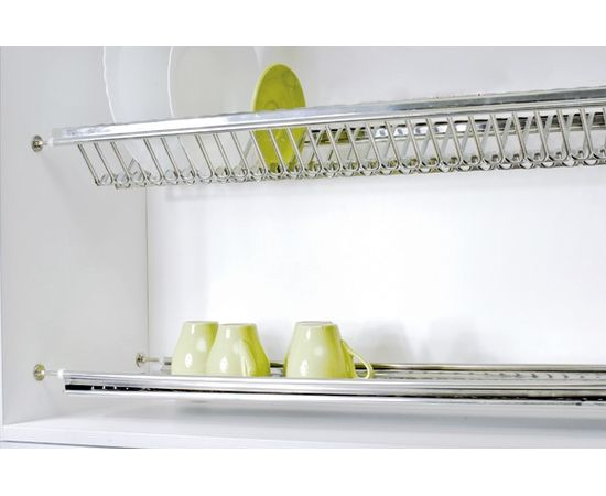 Сушка для посуды 2-уровневая в базу 1000, сталь нержавеющая ELLETIPI (B-SWVB.96), фото 1