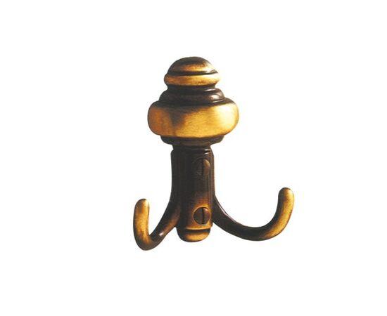 Вешалка настенная, отделка бронза античная КЛАССИКА (11.445.A20), фото 1