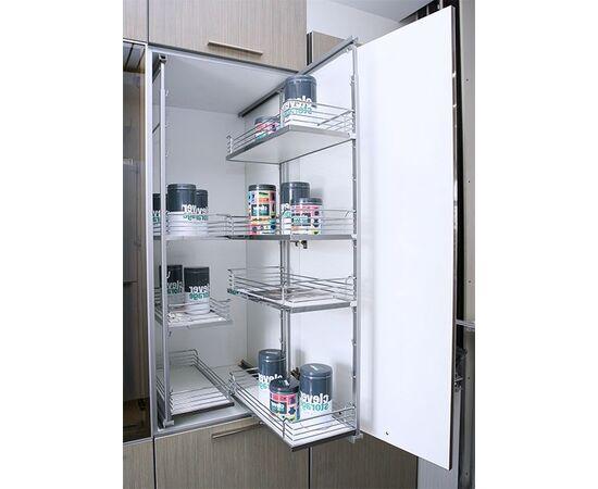 Комплект выдвижной в высокий шкаф  - 300 Арена 6 полок Арена, H 1160-1495мм kessebohmer (42 3061 0005), фото 1