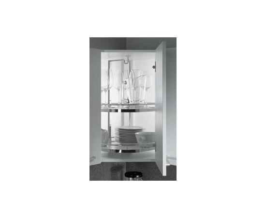 Угловой механизм в навесной шкаф «Твистер-500», 3 полки, Арена-стиль, Anti-Slip, Н 812-922 мм kessebohmer (53 5032 0005), фото 1