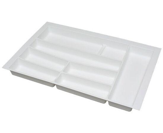 Ёмкость в базу 800 для столовых приборов, цвет белый матовый (3276.NN80.BI), фото 1