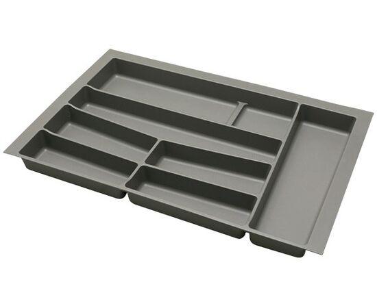 Ёмкость в базу 800 для столовых приборов, цвет орион серый (3276.NN80.GP), фото 1