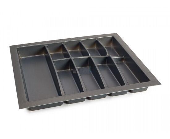 Лоток для столовых приборов LINE, ширина фасада 600 мм для Blum Tandembox глубиной 500 мм Dirks (12020022), фото 1