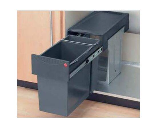 """Система сортировки мусора, хранения """"Tandem"""", в базу 300 мм Hailo (3666-11), фото 6"""