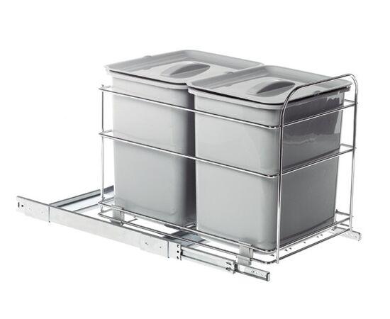 Набор для раздельного сбора мусора, в базу 400 мм (PET40FC), фото 1