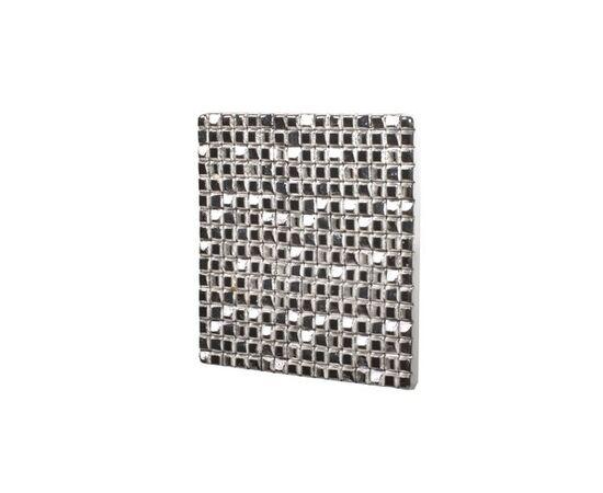 Мебельная ручка-кнопка 32мм, отделка серебро коллекция АРТ (8.1083.0032.18), фото 1