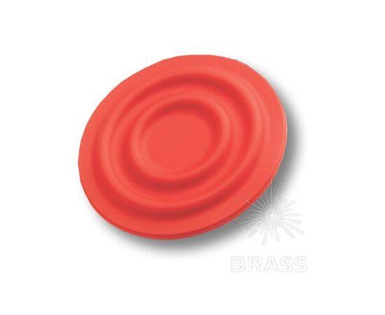 Ручка мебельная кнопка детская, круг красный (440025ST09), фото 1