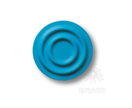 Ручка мебельная кнопка детская, круг синий (440025ST05), фото 1
